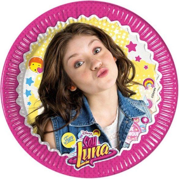 Soy Luna papírtányér (8 db-os)