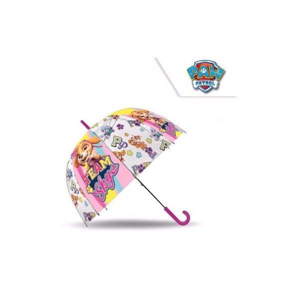 Mancs őrjárat lány átlátszó esernyő