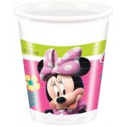 Disney Minnie parti pohár (8 db-os)