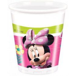 Disney Minnie parti pohár (8 db-os)