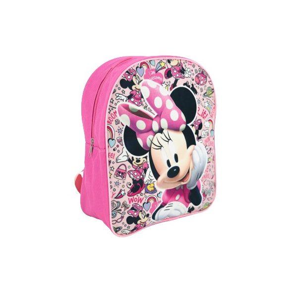 Minnie egér ovis hátizsák virágmintával