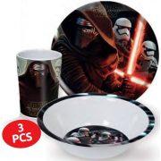 Star Wars melamin étkészlet