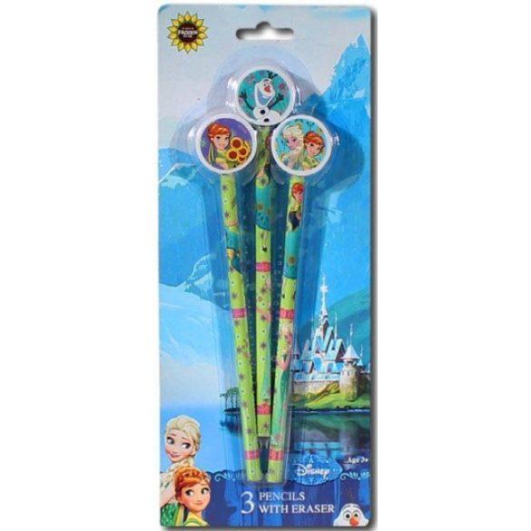 Jégvarázs grafit ceruza és radír szett - Mese Guru - a Disney és szuperhős  ajándékok szakértője a035cca166
