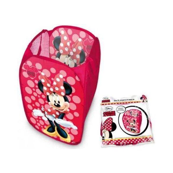 Minnie egér piros játéktároló
