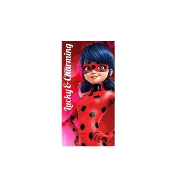 Miraculos Ladybuy piros strand törölköző - fürdőlepedő