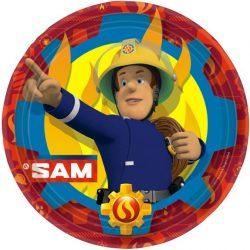 Sam a tűzoltó papírtányér (8 db-os)