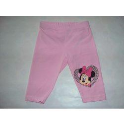 Disney Minnie leggings csillogó mintával