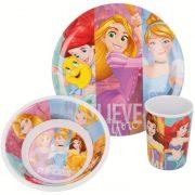 Disney hercegnők melamin étkészlet