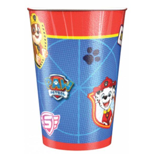 Mancs őrjárat parti pohár (8 db-os)