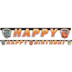 Disney Verdák Happy birthday felirat