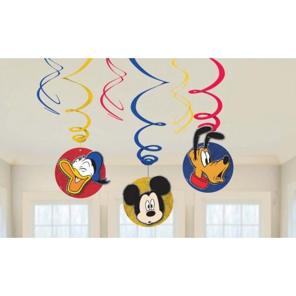 Disney Mickey egér szalag dekoráció( 6 db-os szett)