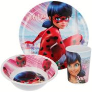 Miraculous Ladybug melamin étkészlet