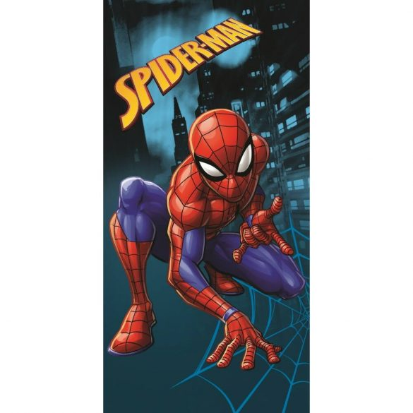Spiderman Pókember pamut fürdőlepedő / strand törölköző