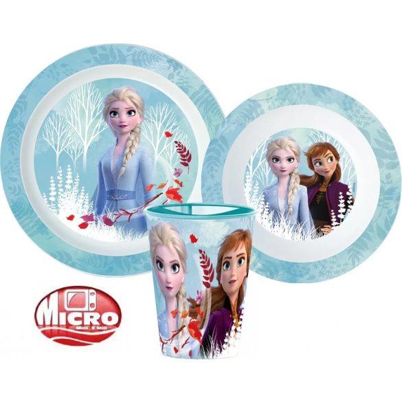 Jégvarázs mikrózható gyerek étkészlet