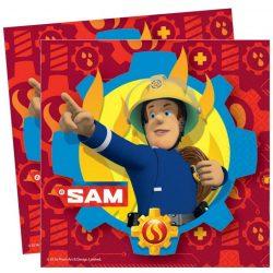 Sam a tűzoltó szalvéta (20 db-os)
