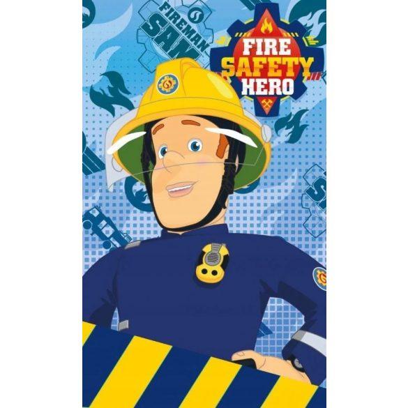 Sam a tűzoltó pamut kéztörlő, arctörlő