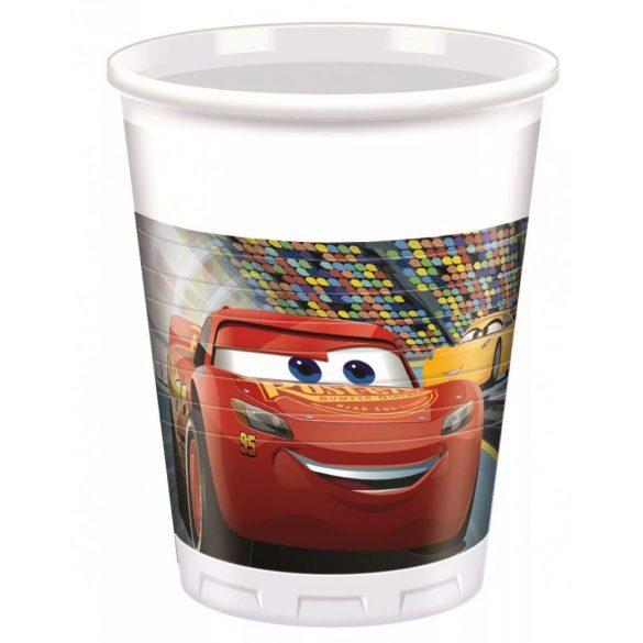 Verdák parti műanyag pohár (8 db-os)