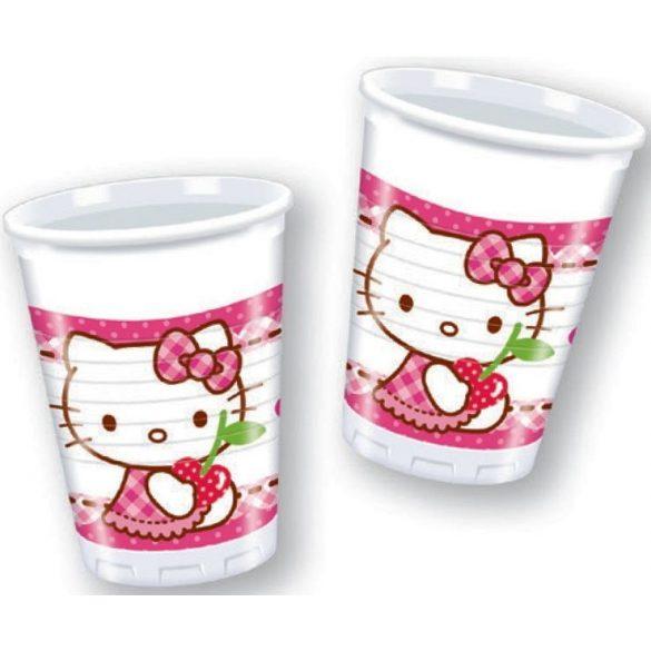 Hello Kitty parti pohár (8 db-os)