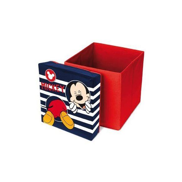 Mickey egér játéktároló puff