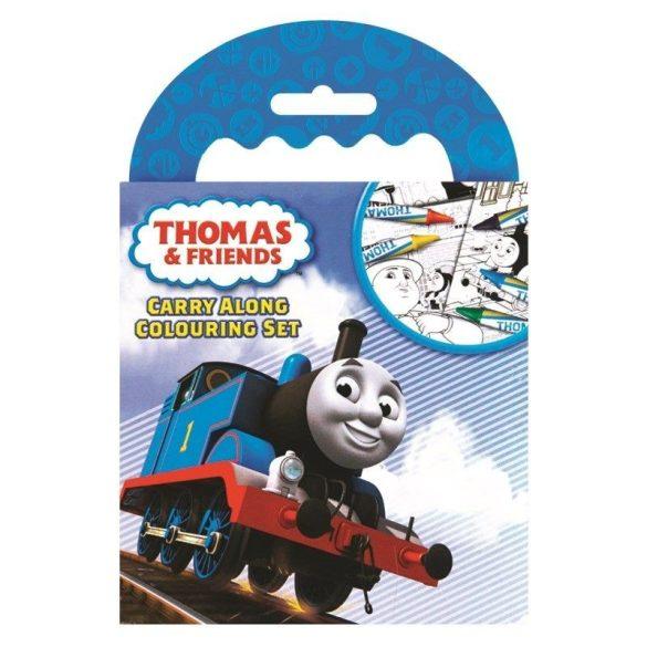 Thomas és barátai úti színező zsírkrétával