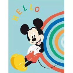 Mickey egér kék polár takaró