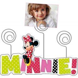Minnie egér képtartó