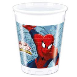 Pókember parti pohár (8 db-os)