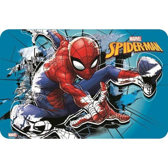 Pókember 3 dimenziós tányéralátét