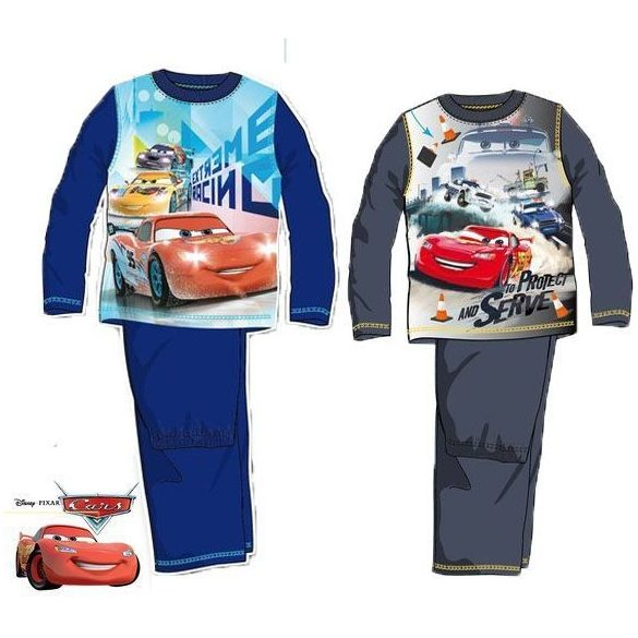 Disney Verdák hosszú ujjú pizsama (98-128 cm)