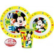 Mickey egér mikrózható étkészlet