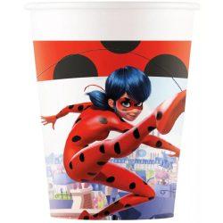 Miraculos Ladybug parti pohár (8 db-os)