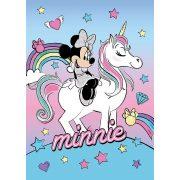 Minnie egér és unikornis  polár takaró