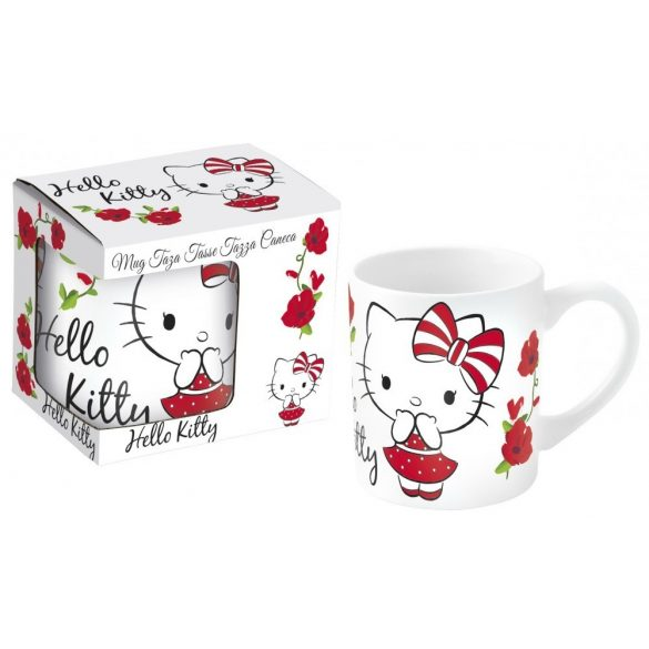 Hello Kitty porcelán bögre