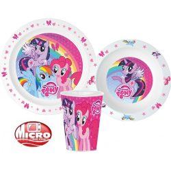 My Little Pony/ Én kicsi pónim mikrózható étkészlet