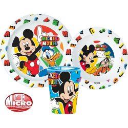 Mickey egér mikrózható gyerek étkészlet