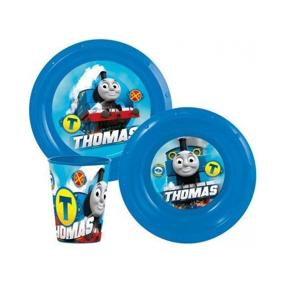 Thomas és barátai műanyag étkészlet