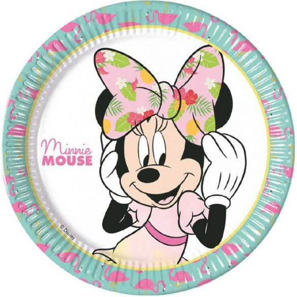Disney Minnie papírtányér (8 db-os)