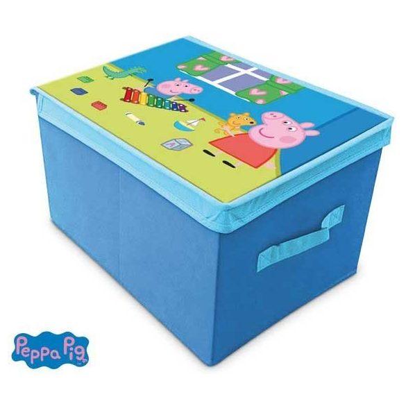 Peppa malac kék játéktároló