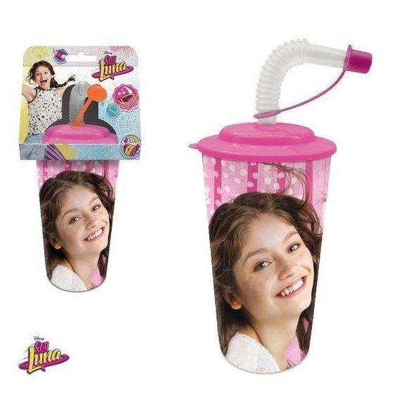 Soy Luna szívószálas pohár 3D