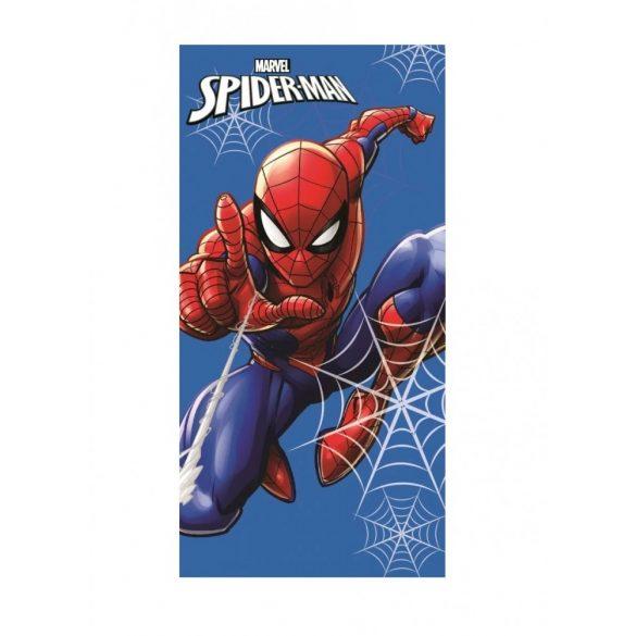 Spiderman Pókember fürdőlepedő / strand törölköző kék