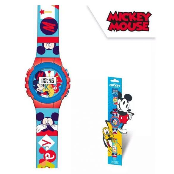 Mickey egér digitális karóra és pénztárca szett