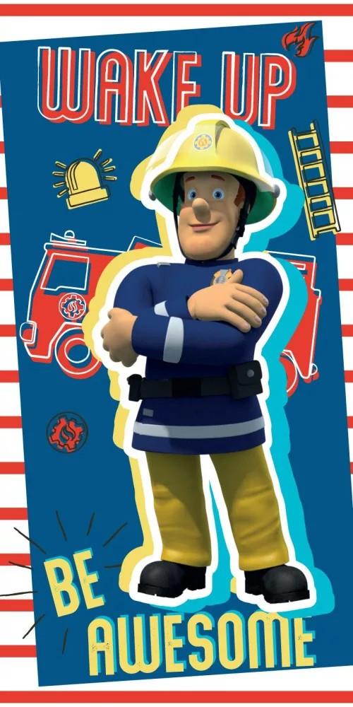 Sam a tűzoltó fürdőlepedő / törölköző