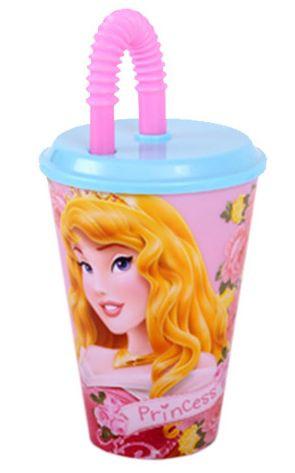 Hercegnők szívószálas pohár