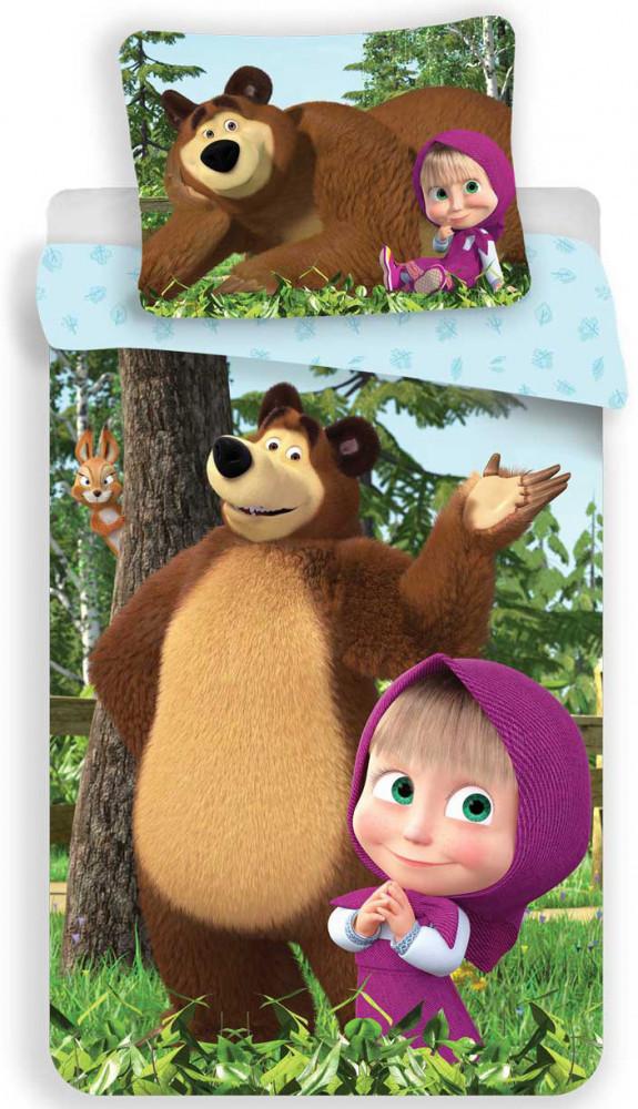 Mása és a medve ágynemű